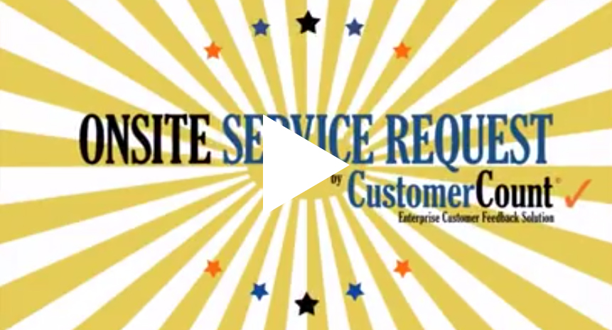 Onsite Service Request