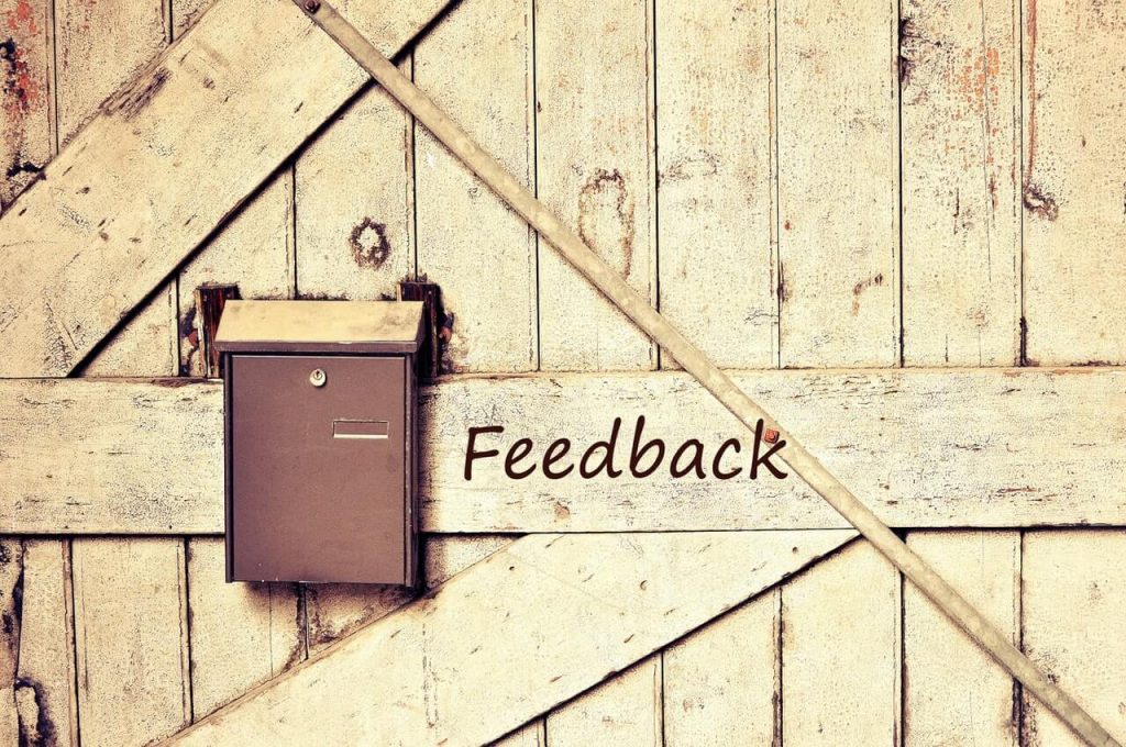 Ways to encourage customer feedback CustomerCount