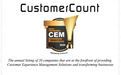 CustomerCount's Platform recognized by CIO Review